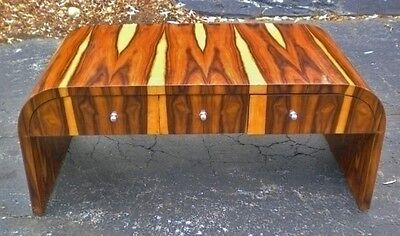 SPECTACULAR Rosewood Art Deco Large coffee table