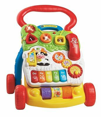 VTech Baby Walker First Steps Ride Push Eduational Activity Learning Center Toy