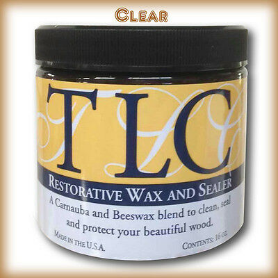 Wax and restorative for wood.Interior/Exterior Paint clean, polish, protect,seal