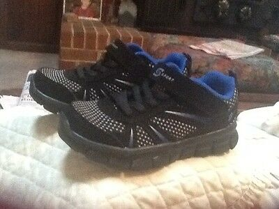 Boys  Wash A Bubble by Skechers Athletic Shoes Size 9 Black/blue/silver