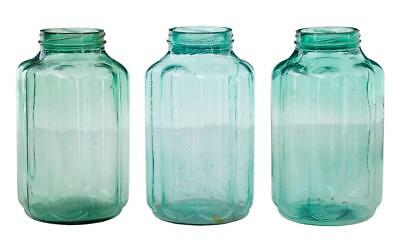 Collection Of 3 Early 20Th Century Cucumber Vases