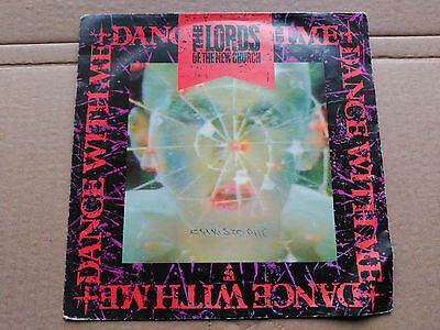7'' The Lords Of The New Church - Dance With Me - Netherlands 1983 G+/vg+