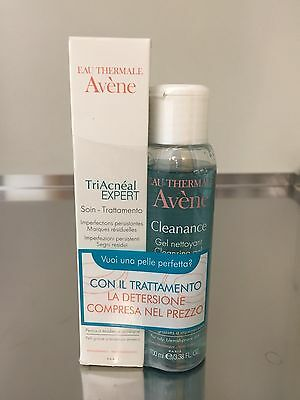 Avene Triacneal Expert Emulsione 30 ml + Cleanance gel 100ml in omaggio