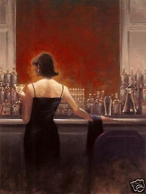 Art Repro Brent Lynch Oil Painting On Canvas Evening Lounge 24x36""
