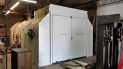 SPRAY BOOTH - 14'x26'x9' - MUST GO THIS WEEK - $8,500 - OBO