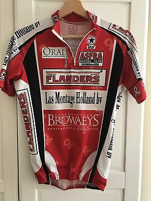 Asfra Flanders Cycling Jersey Short Sleeved Small