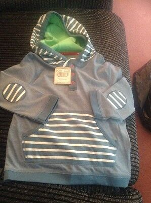 Nwt Size 9-12 Mths Hoddie Top Pockets At Front