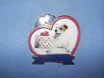 Danbury Mint Jack Russell Terrier Dog Pin Badge (For Me?)