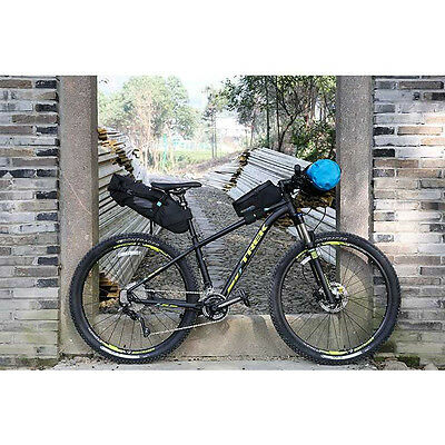 Waterproof 10L Bicycle Saddle Bag .Bikepacking Bike Rear Seat Pack.UK Shipping!