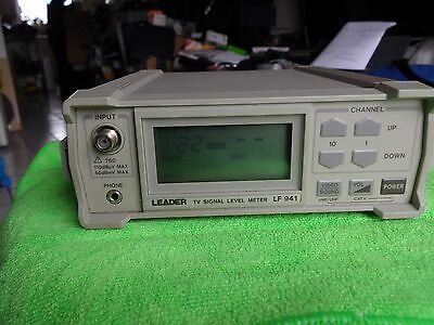 Leader TV Signal Level Meter LF 941