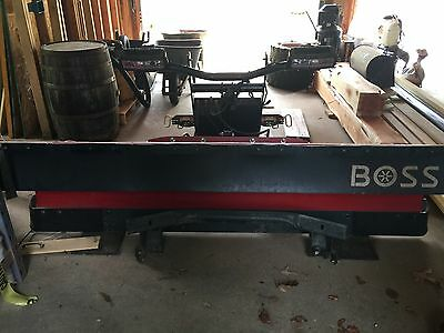 Boss 8' snow plow - New never used. Paid $6742.00 year ago.