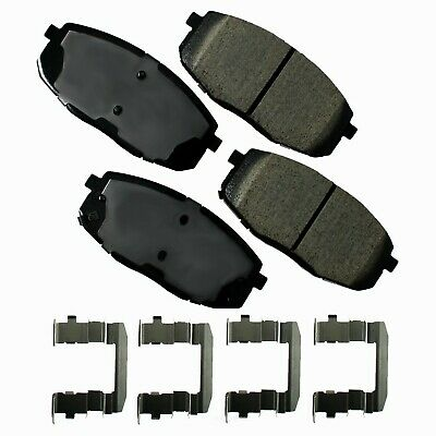 Disc Brake Pad Set-ProACT Ultra Premium Ceramic Pads Front Akebono ACT530