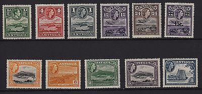 U74) x11 TIMBRES stamps (Neuf**MNH TBE) ANTIGUA