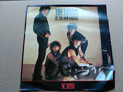 7'' The Lords Of The New Church - ''m'' Style - Irs Netherlands 1983 Vg+