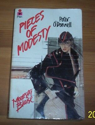 Modesty Blaise two Pan paperbacks Pieces of Modesty & The Impossible Virgin