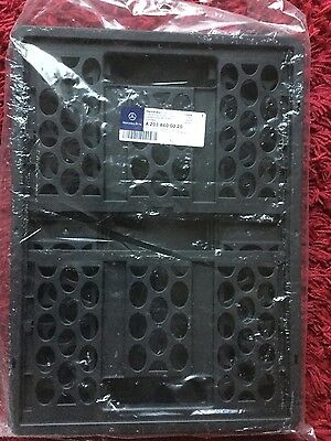 Brand New Genuine Mercedes Benz Collapsible Shopping Crate A2038400020