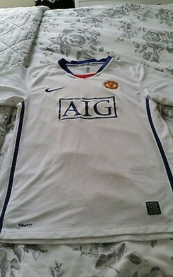 manchester united football shirt collectors size xs
