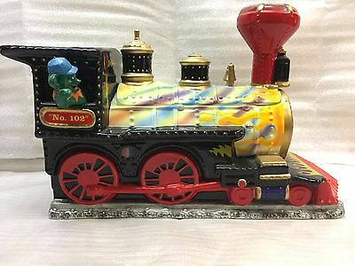 Grateful Dead 1999 Vandor Premiere Limited Edition Train Cookie Jar #637 of 4800