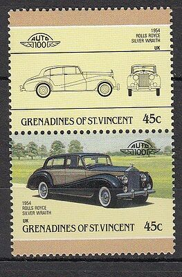 H138) Timbres Neufs MNH (Rolls Royce Silver Wraith) GRENADINES/CARS-AUTOMOBILES
