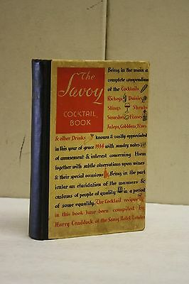 The Savoy Cocktail Book. New and Enlarged Edition. 1933.