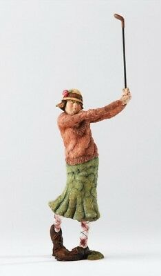 """""""Hole in One """" Golferin Views of Life. Country Artists Design Grant Palmer. 22cm"""
