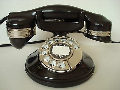 Antique Automatic Electric Monophone 1A Telephone Working Bakelite phone