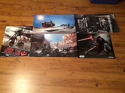 Star Wars Celebration 2017 Black Series POSTER PRINT SET of 3 Hasbro Exclusive
