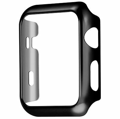 Black Apple Watch Series 2 Protective Case Cover with Built in Screen Protector