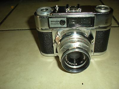 Vintage Braun Paxette 35 MM Camera Made In Germany Ca. 1950's