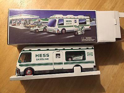 1998 Hess Truck Recreation Van with Buggy and Motor Cycle With Box