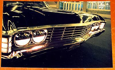 Photo Black 1967 Chevy Impala In Montreal At Night 2005 - Classic Chevrolet