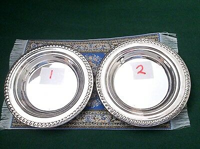 Sterling Silver Nut or sweet Dishes 2 of them