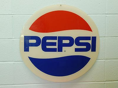 Vintage ~ Pepsi ~  Plastic Lens for a Lighted Sign ~Advertising
