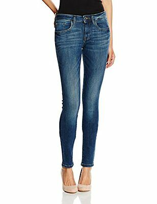 (TG. W31/L32) Blu (Dark Stone Wash Denim) TOM TAILOR Skinny Alexa, Jeans Donna,