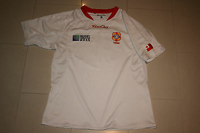 Tonga World Cup 2011 Rugby Union Jersey Mens Xl V Wallabies Kooga Official
