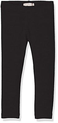 (TG. 110) Nero (Black) NAME IT NITVIVIAN LEGGING NMT NOOS, leggings Bambina, Ner