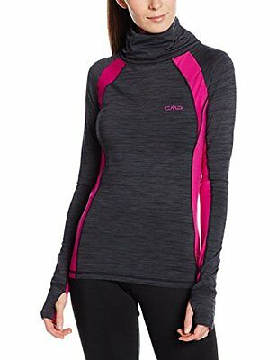 CMP felpa da donna Fitness Sweat, Donna, Fitness Sweatshirt, Antracite Melange,
