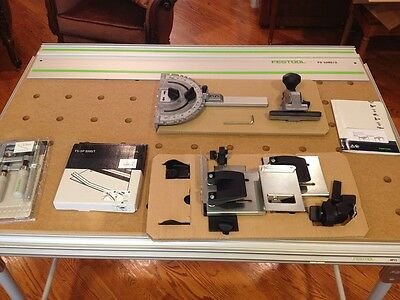 FESTOOL MFT/3 Multifunction Table w + extras. portable workbench. excellent