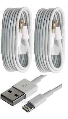 2x 3FT Cable White USB Data Cord for iPhone 7 6S SE 5S 6 6S+ plus Sync Charging