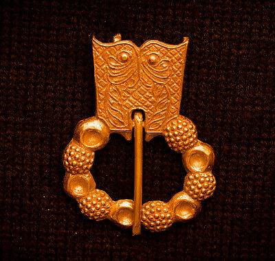 15th Century Belt Buckle with an Owl Pattern - W-05