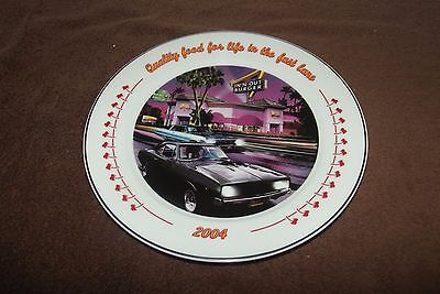 2004 In-N-Out Burger Kick Off Awards Dinner Collector Plate Brand New Nice !!!