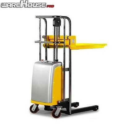 New Electric Lifter/ Stacker- 400kg Capacity- 2 in 1 Fork & Platform Lifter