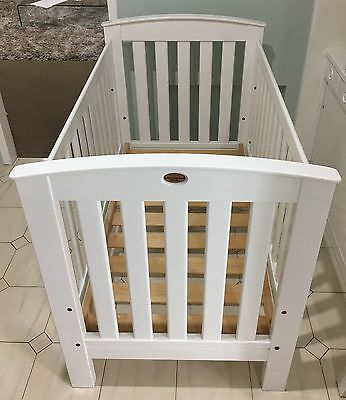 Boori Cot/Bed - White - Very Good Condition