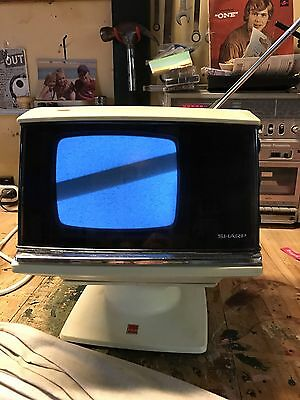 Portable Sharp TV Made In Japan Working