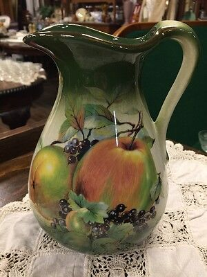"Staffordshire English ""Mayfayre"" Jug"