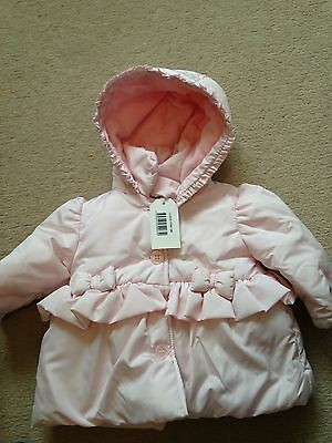 BNWT ZIP ZAP Light Pink Baby Girls Jacket 6 months
