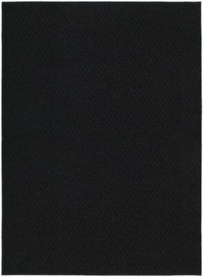 Garland Rug Town Square Area 5-Feet by 7-Feet Black Mats Rugs Nursery Décor Baby