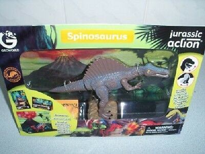 Geoworld Jurassic Action Educational Kit With Movable Dinosaur - Spinosaurus