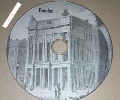 Dundee History ebooks, genealogy 80 on disc in pdf & mobi format for PC Kindle
