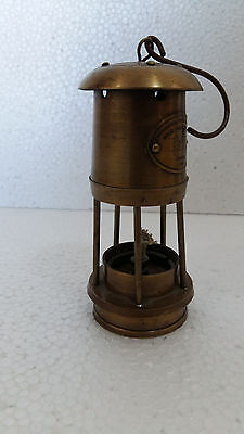 "Antique Vintage Style Brass Nautical Miner Ship 6"" Lantern Oil Lamp Maritime"